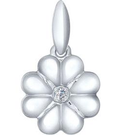 Кулоны, подвески, медальоны SOKOLOV 94031595_s