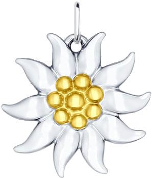 Кулоны, подвески, медальоны SOKOLOV 94031716_s