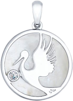 Кулоны, подвески, медальоны SOKOLOV 94031796_s