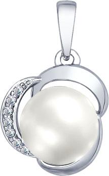 Кулоны, подвески, медальоны SOKOLOV 94031872_s женские кулоны giorgio martello серебряный кулон с культ жемчугом 806959