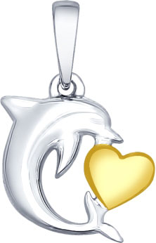 Кулоны, подвески, медальоны SOKOLOV 94031897_s ювелирные подвески sokolov подвеска