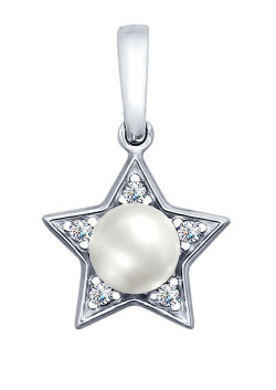 Кулоны, подвески, медальоны SOKOLOV 94031996_s