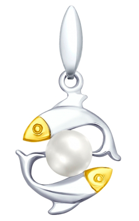 Кулоны, подвески, медальоны SOKOLOV 94032038_s