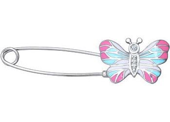 Броши SOKOLOV 94040073_s серебряная брошь в виде бабочки sokolov