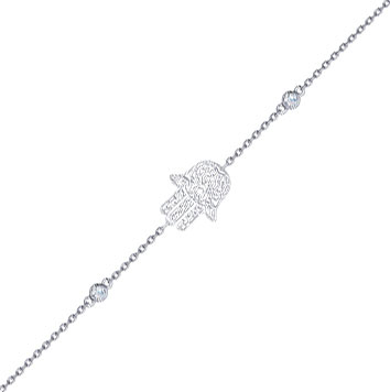 Браслеты SOKOLOV 94050345_s u7 роскошные хрустальные бусины браслеты для женщин ювелирные изделия 2016 новые модный черный красный камень хамса рука сглаза браслет