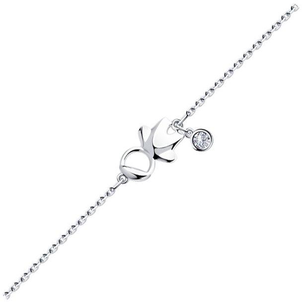 Браслеты SOKOLOV 94050347_s женские браслеты sokolov женский серебряный браслет nd94050259 17