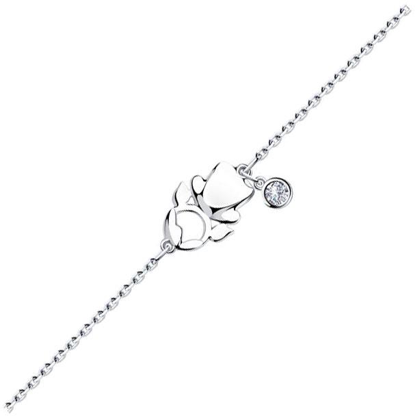 Браслеты SOKOLOV 94050348_s женские браслеты sokolov женский серебряный браслет nd94050259 17