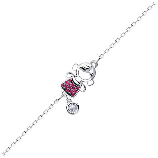 Браслеты SOKOLOV 94050369_s женские браслеты sokolov женский серебряный браслет nd94050259 17