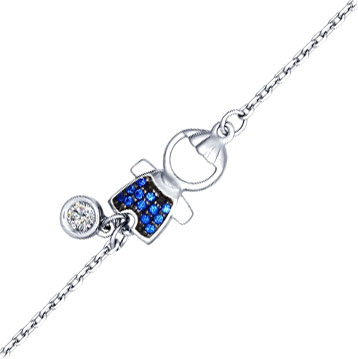 Браслеты SOKOLOV 94050370_s женские браслеты sokolov женский серебряный браслет nd94050259 17