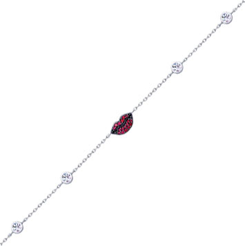Браслеты SOKOLOV 94050415_s u7 роскошные хрустальные бусины браслеты для женщин ювелирные изделия 2016 новые модный черный красный камень хамса рука сглаза браслет