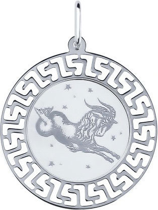 Кулоны, подвески, медальоны SOKOLOV 94100014_s кулоны подвески медальоны sokolov 035318 s