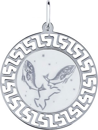 Кулоны, подвески, медальоны SOKOLOV 94100016_s