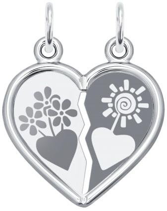 Кулоны, подвески, медальоны SOKOLOV 94100019_s
