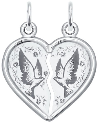 Кулоны, подвески, медальоны SOKOLOV 94100036_s