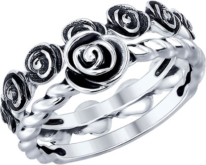 Кольца SOKOLOV 95010082_s