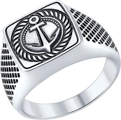 Кольца SOKOLOV 95010085_s брошь bohemia style цвет серебряный с чернением черный 7061 1141 04