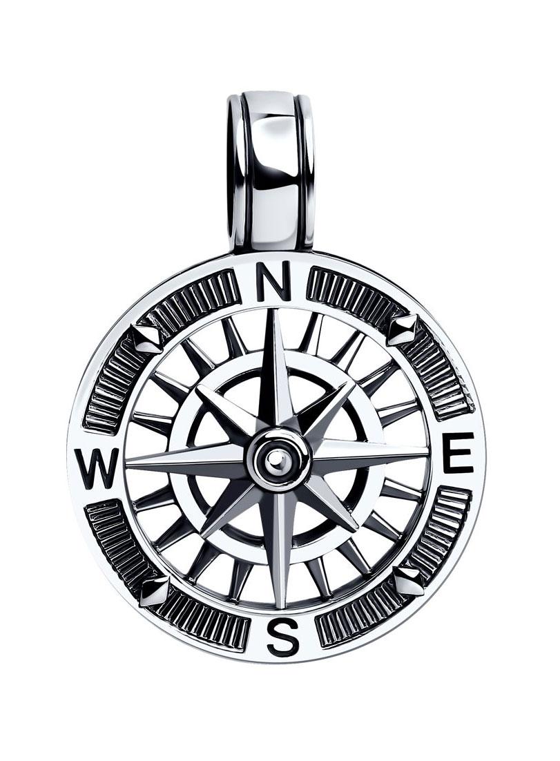 Кулоны, подвески, медальоны SOKOLOV 95030154_s женские кулоны jv серебряный кулон с куб циркониями ps0024 gzi 001 wg