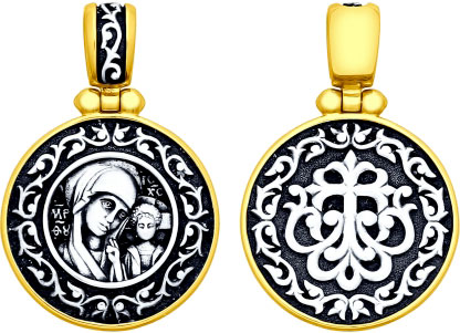 Кулоны, подвески, медальоны SOKOLOV 95030179_s