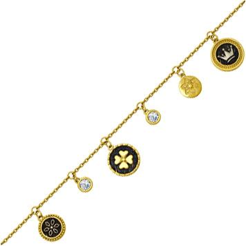 Браслеты SOKOLOV 95050006_s браслет avgad цвет золотистый черный белый br77kl97