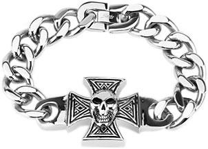 Браслеты Spikes SSBQ-3114 муж кожаные браслеты кожа природа мода браслеты черный назначение особые случаи подарок