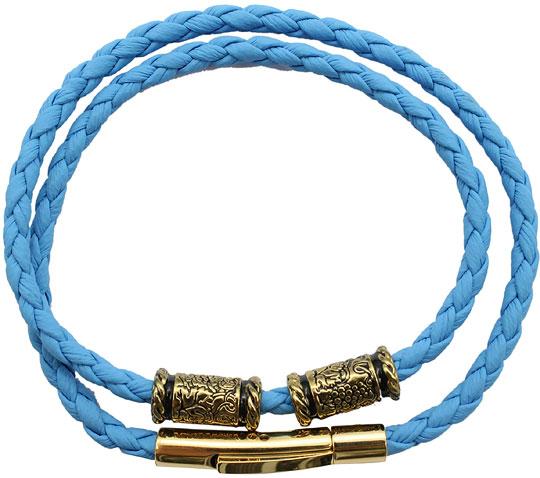 Браслеты SWANKY BK9STZ300-GOLUBOJ-DLINNYJ-sw кожаные браслеты кожа винтаж мода браслеты цвет радуги назначение свадьба для вечеринок спорт