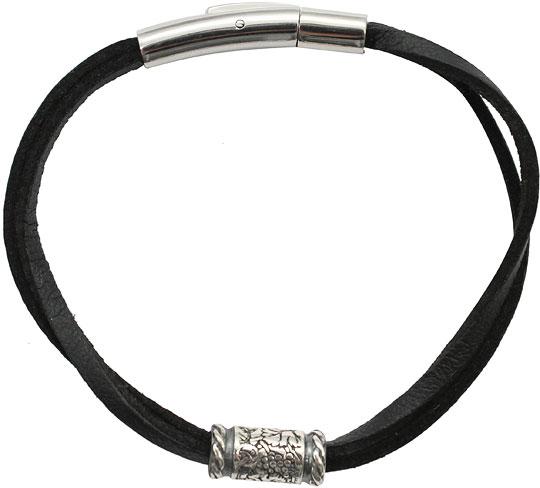 Браслеты SWANKY BZ2ST300-CHERNYJ-sw муж жен кожаные браслеты кожа мода браслеты черный коричневый назначение новогодние подарки для вечеринок особые случаи