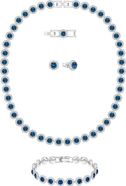 Колье Swarovski 5166808 колье ювелирная бижутерия lebedi crystals колье в позолоте с кристаллами и элементами swarovski