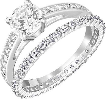 Кольца Swarovski 5184317 swarovski swarovski кольца кольца романтический элегантный минималистский аксессуары no 503291552