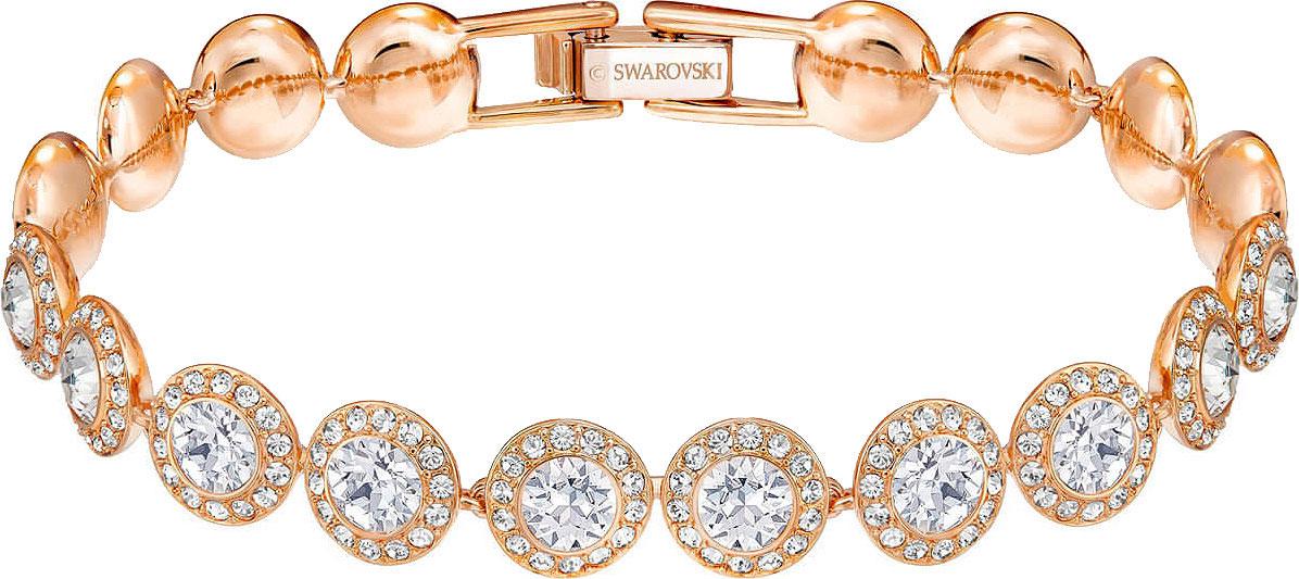 Браслеты Swarovski 5240513 yoursfs золото покрытие rhinestone кристалл браслеты для женщин розовое золото цвет charms день матери браслеты браслеты моды b085r4