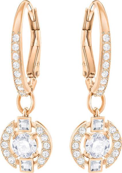 Серьги Swarovski 5272367 yoursfs cc модные три цвета drop серьги розовое золото позолоченные винтажные мотаться серьги pendientes mujer moda интернет магазин индия