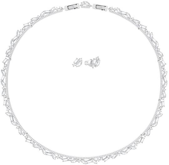 Колье Swarovski 5351312 колье ювелирная бижутерия lebedi crystals колье в позолоте с кристаллами и элементами swarovski