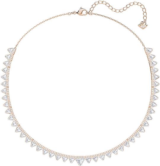 Колье Swarovski 5379020 колье ювелирная бижутерия lebedi crystals колье в позолоте с кристаллами и элементами swarovski