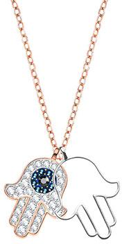 Кулоны, подвески, медальоны Swarovski 5396882 хамса браслет в москве