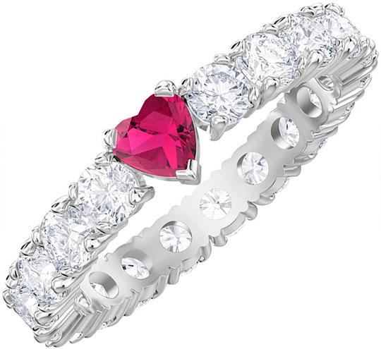 Кольца Swarovski 5412054 swarovski swarovski родием ожерелье сердца кулон 1809006