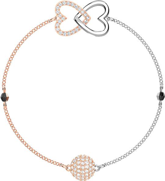 Браслеты Swarovski 5451098 муж жен strand браслеты магнитные браслеты свисающие природа простой стиль мода браслеты черный назначение повседневные для улицы