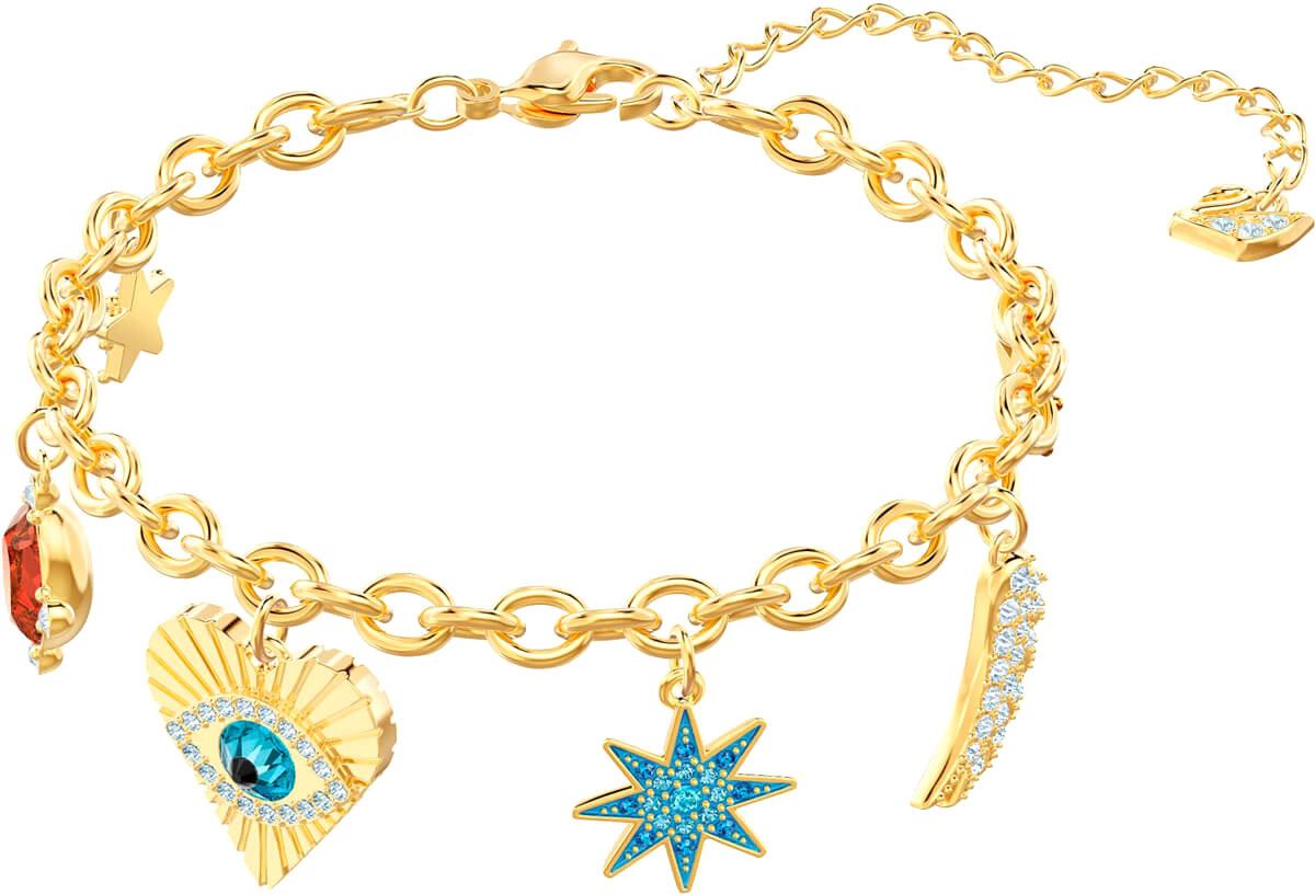 Браслеты Swarovski 5461796 ювелирные браслеты amorem браслет под крылом ангела