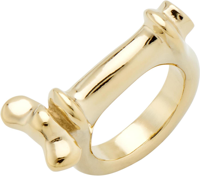 Кольца UNOde50 ANI0660ORO000 unode50 позолоченное кольцо shortcut из коллекции china unode50