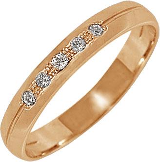 Кольца Уральский ювелирный завод 1-01115-011 женское обручальное кольцо подлинная австрия кристалл роскошное классическое розовое каменное кольцо женская мода ювелирный подарок 17659