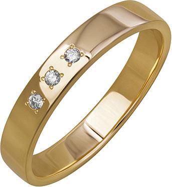 Кольца Уральский ювелирный завод 1-01266-011 женское обручальное кольцо подлинная австрия кристалл роскошное классическое розовое каменное кольцо женская мода ювелирный подарок 17659