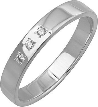 Кольца Уральский ювелирный завод 1-01266-012 женское обручальное кольцо подлинная австрия кристалл роскошное классическое розовое каменное кольцо женская мода ювелирный подарок 17659