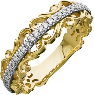 Кольца Уральский ювелирный завод 1-02160-014 женские кольца jv женское серебряное кольцо с синт аметистом в позолоте 30 014 510 030 gams yg 18