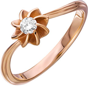 Кольца Уральский ювелирный завод 1-02280-011
