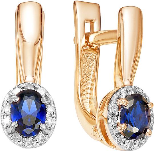 Серьги Vesna jewelry 2022-151-16-00