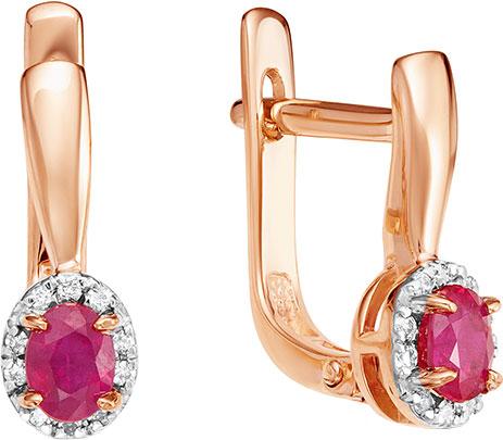 Серьги Vesna jewelry 2022-151-18-00