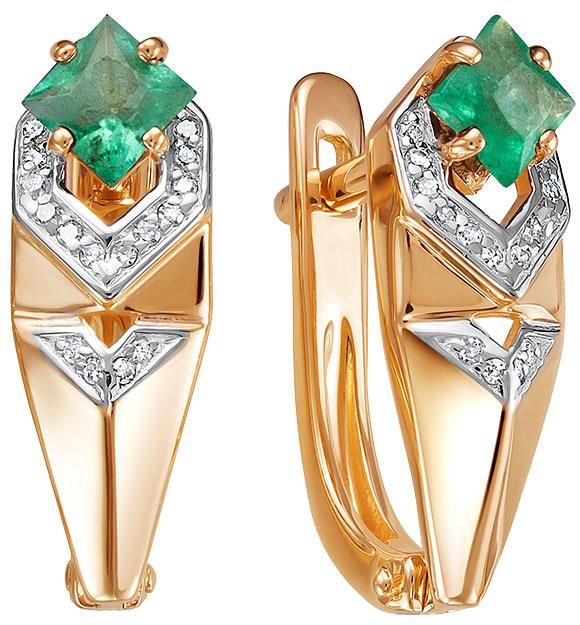 Серьги Vesna jewelry 21006-151-14-00