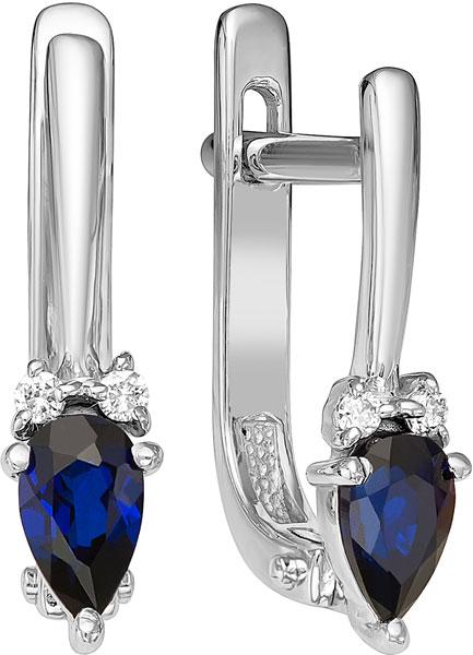 Серьги Vesna jewelry 2140-251-06-00