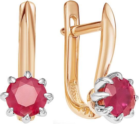 Серьги Vesna jewelry 2224-151-12-00