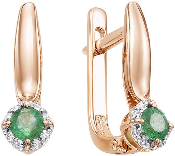 Серьги Vesna jewelry 2409-151-04-00