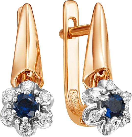 Серьги Vesna jewelry 2415-151-03-00 серьги vesna jewelry 4027 151 04 00