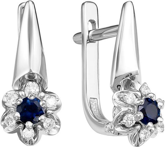 Серьги Vesna jewelry 2415-251-03-00